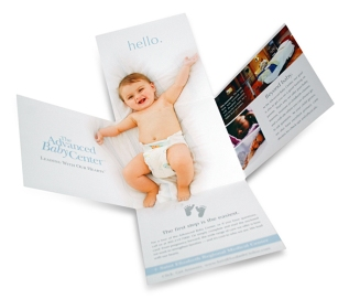 Saint Elizabeth - Advanced Baby Center Direct Mail piece